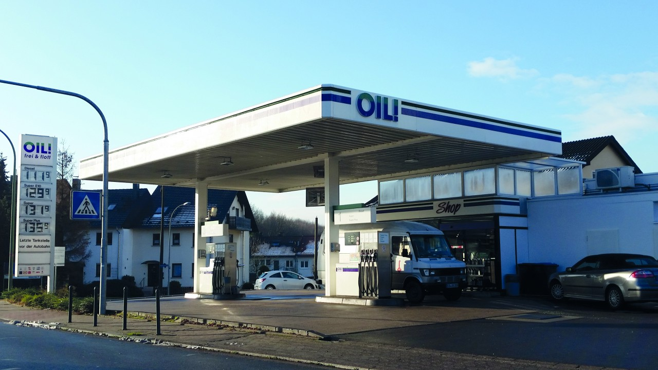 OIL Tankstelle