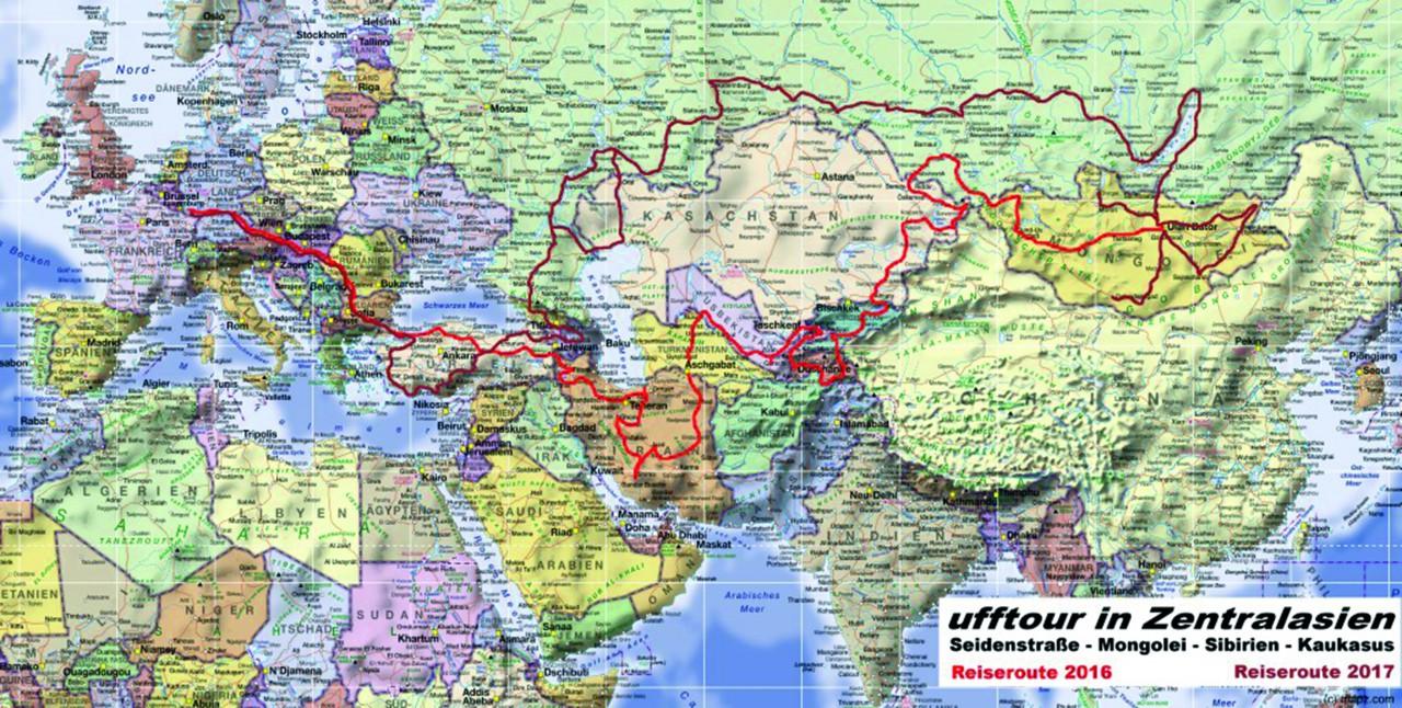 Karte-Reiseüberblick-Planung