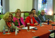 Britta Hess (SPD-Gemeindeverbandsvorsitzende), Wirtschaftsministerin Anke Rehlinger, Karin Lawall (ehem. Bürgermeisterin), Dr. Stephan Schmidt (SPD Fraktionsvorsitzender) und Karl-Heinz Lander (SPD Vorsitzender in Quierschied),