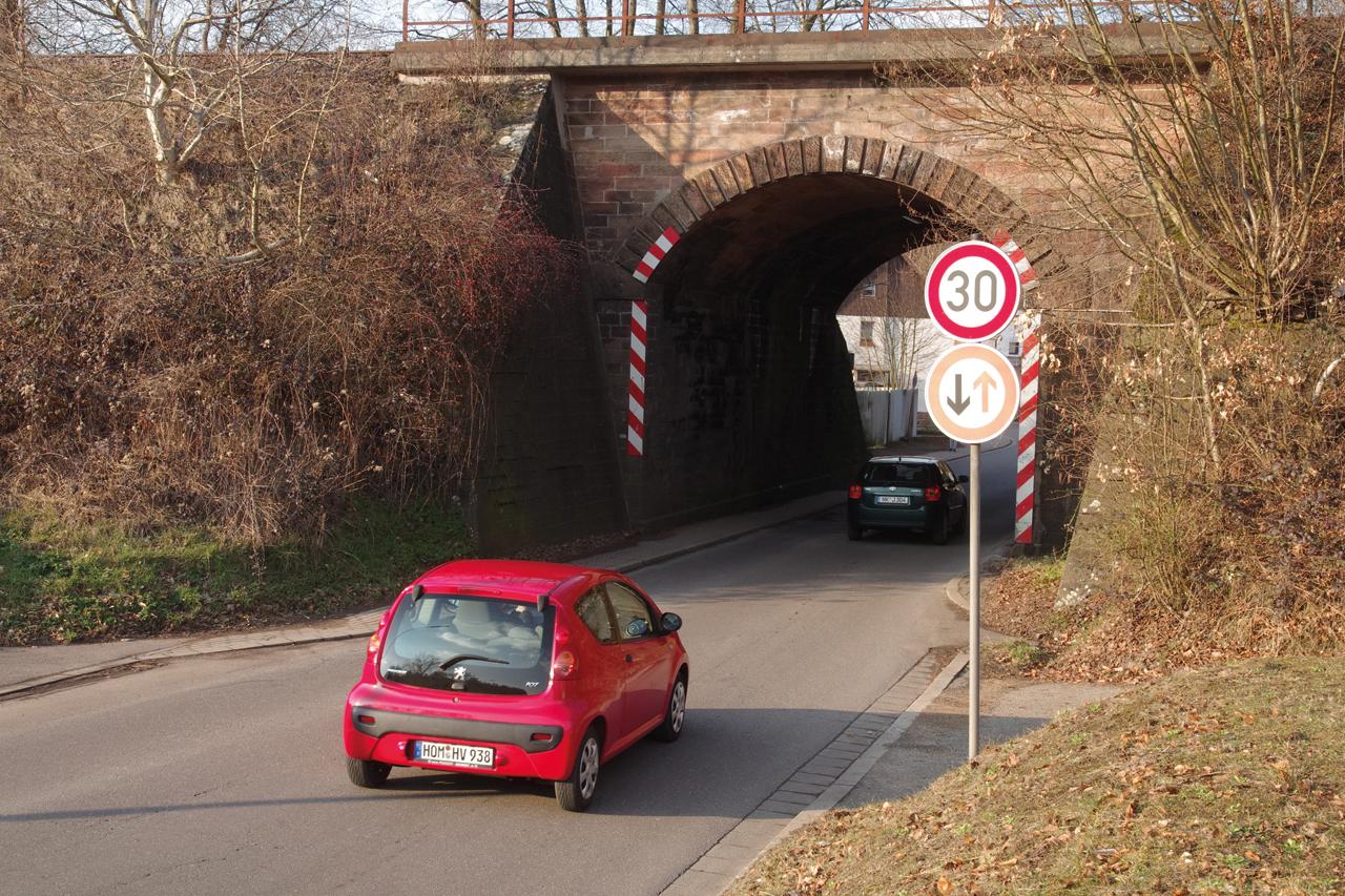 Um diese Brücke drehte sich die Geschichte, die Herbert Sträßer als kleiner Junge miterlebte.