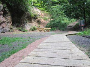 Fußweg Brennender Berg