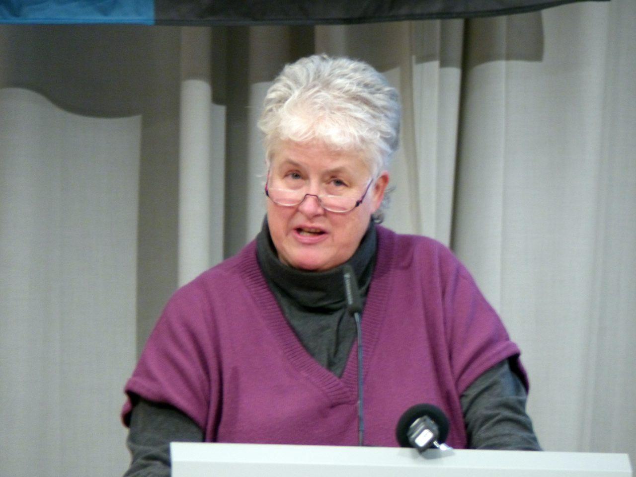 Dr. Susan Breßlein überzog die Sprechzeit deutlich. Vieleicht schaffte die Geschäftsführerin der Winterberg-Klinken deshalb nicht den Sprung in den AR.