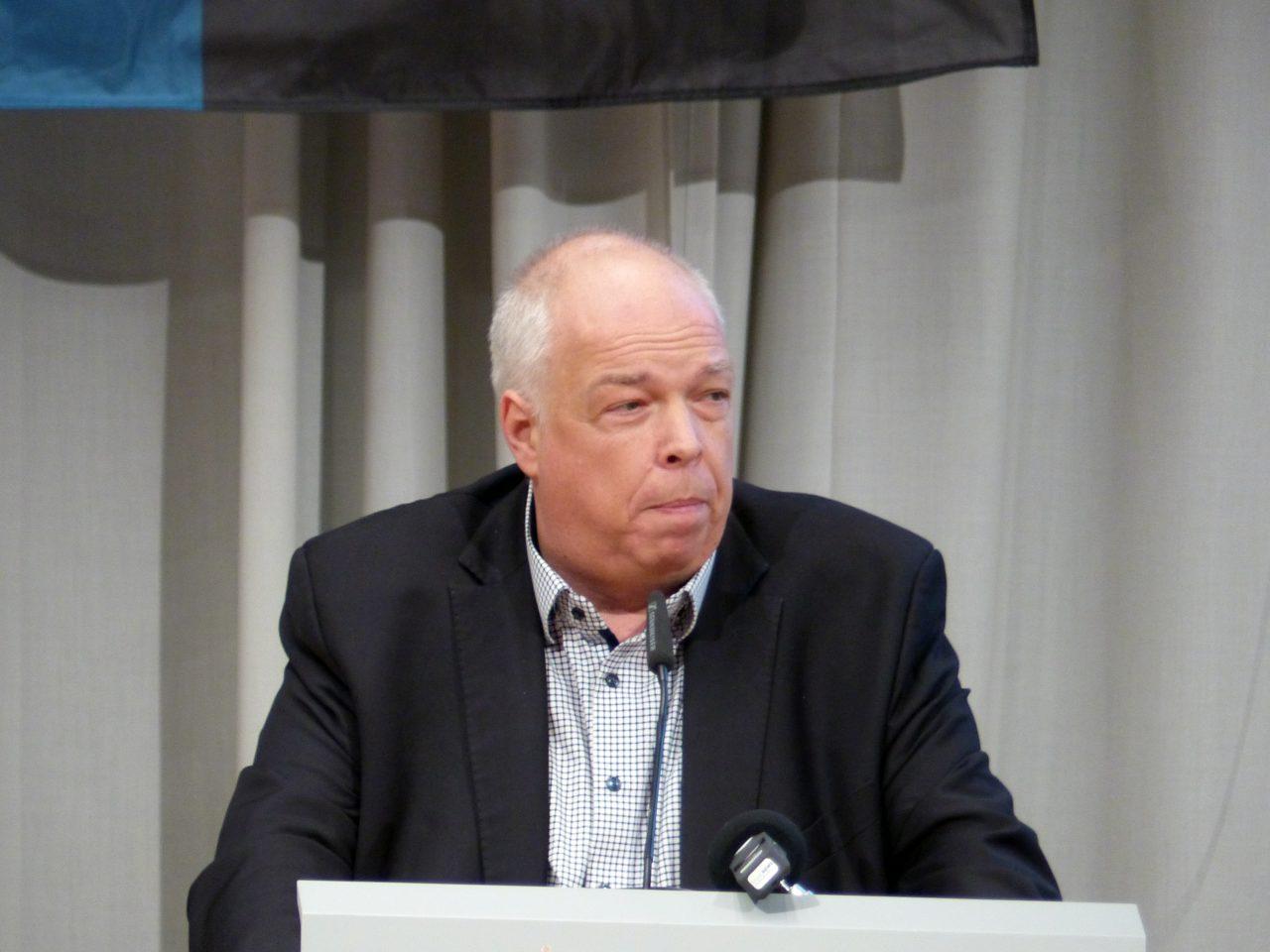Dirk Klein, Präsident des FC Wiesbach, fand keine überzeugenden Argumente für seine Wahl.
