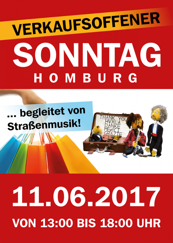 11 juni verkaufsoffener sonntag mit stra enmusik saarnews. Black Bedroom Furniture Sets. Home Design Ideas