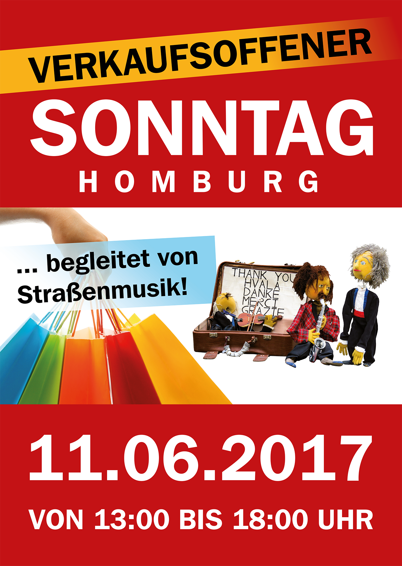 verkaufsoffener sonntag mit stra enmusik viele gesch fte in der homburger innenstadt ffnen am. Black Bedroom Furniture Sets. Home Design Ideas