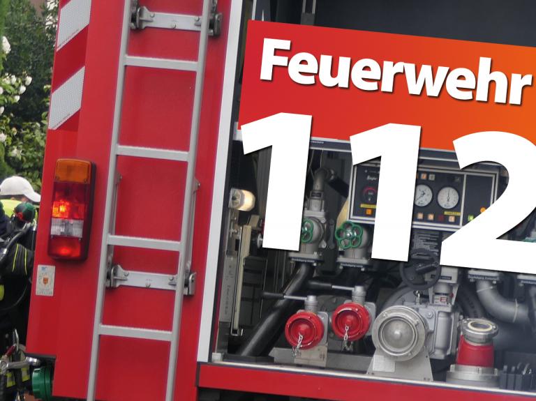 Brand einer Kfz-Werkstatt in Illingen-Welschbach