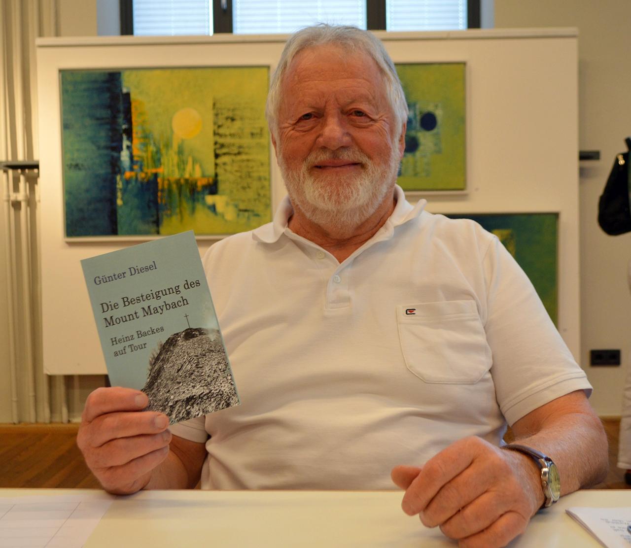 Lesung mit Günter Diesel im Rahmen der Jahresausstellung des ...