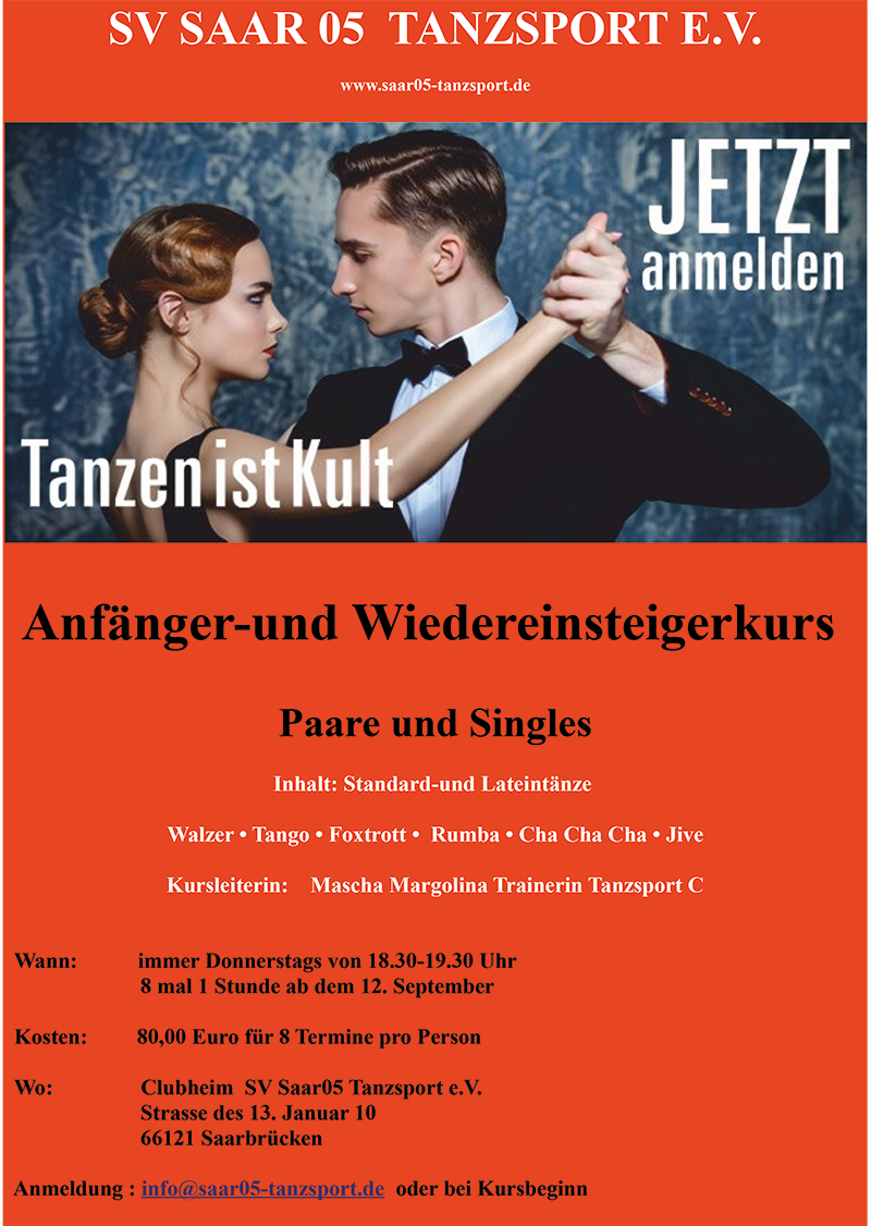 Single tanzkurs saarlouis