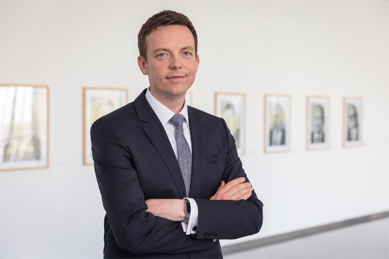 Ministerpräsident Tobias Hans empfängt französische Staatssekretärin für europäische Angelegenheiten im Saarland
