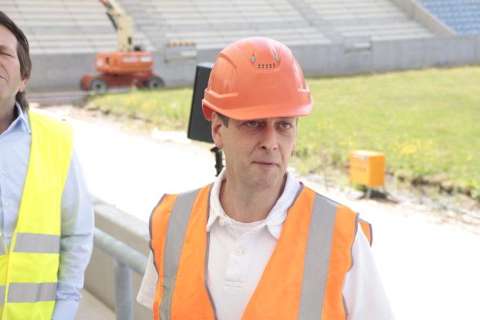 Ludwigsparkstadion: Welker übernimmt - Zeitpunkt der Rückkehr weiterhin unklar