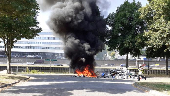 Brand im Wertstoffauto des ZKE – Ursache vermutlich falsche Entsorgung