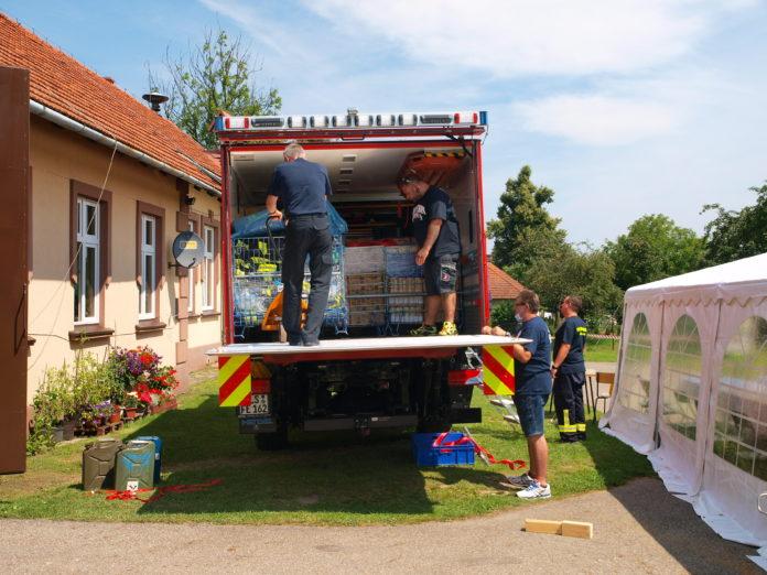 Saarlouiser Hilfstransport trifft im polnischen Bochnia ein