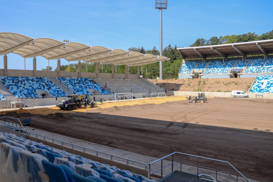 FCS: Ludwigsparkstadion ab dem 1. Heimspiel verfügbar