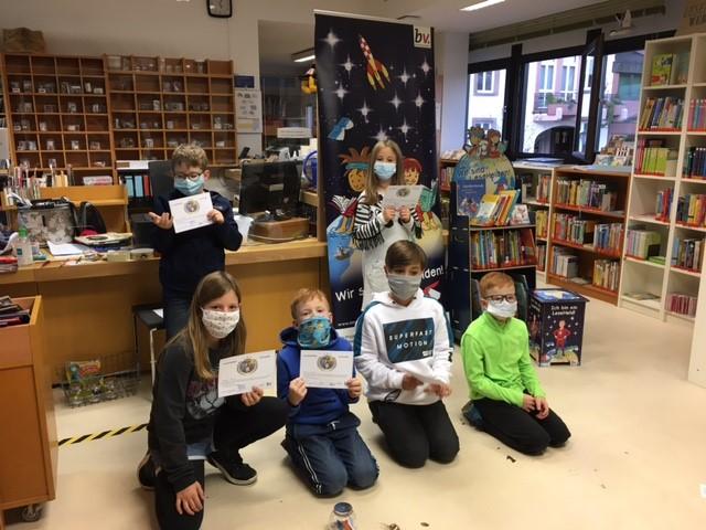 Lesepiraten enterten die Stadtbibliothek Wadern