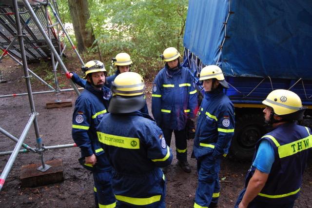 Amtsältester THW-Zugführer im Saarland gibt sein Amt in jüngere Hände