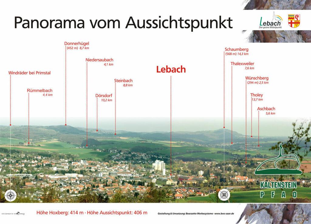 Panorama Lebach mit Auszeichnungen 1