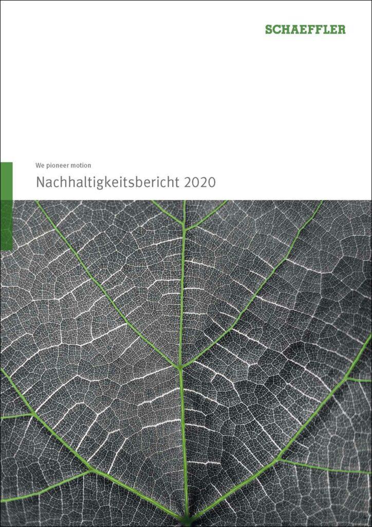 schaeffler nachhaltigkeitsbericht 2020