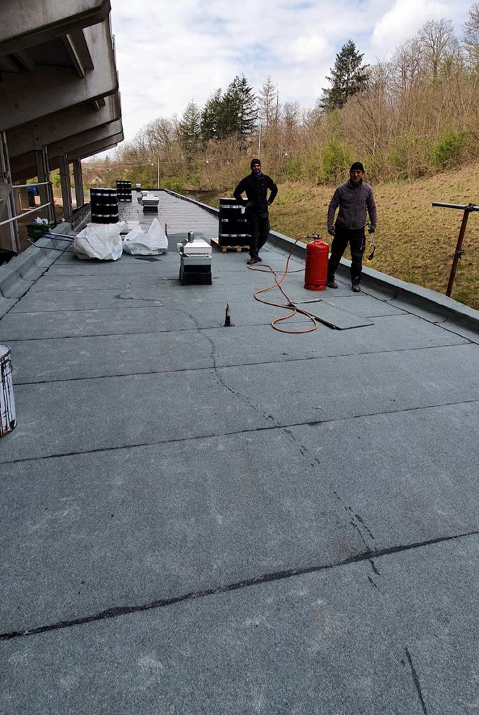 Dachdeckerarbeiten Nebengebaeude Nord