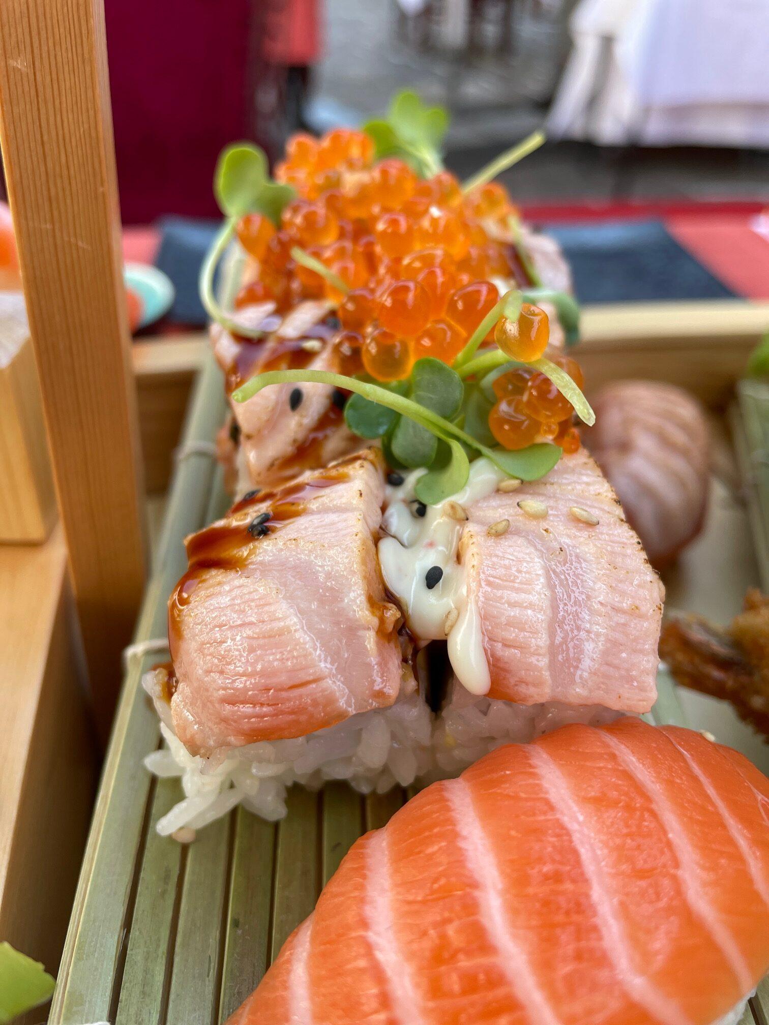 Rührpfanne Aus Titten Und Sushi